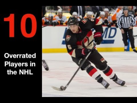 Top 10 Overrated Players in the NHL