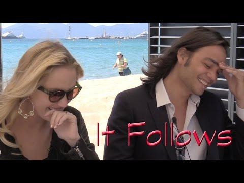 DP/30 @ Cannes Sneak: It Follows, Maika Monroe & Daniel Zovatto streaming vf
