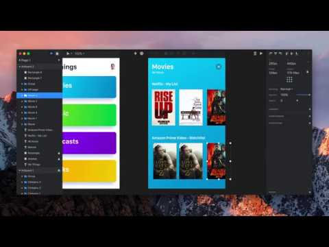 InVision Studio Jams - Andy Orsow, Mobile media prototype