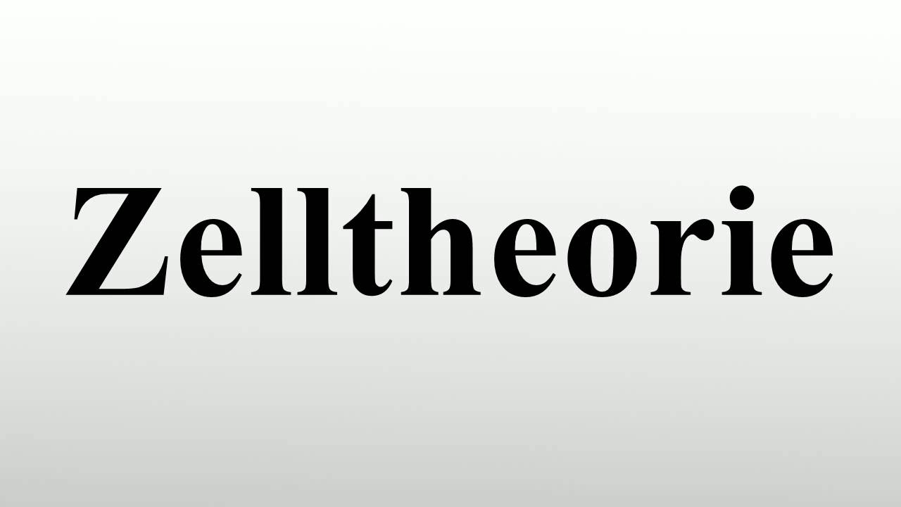Zelltheorie - YouTube