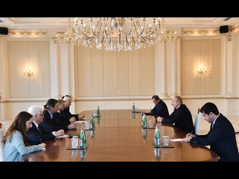 President Ilham Aliyev received OSCE Minsk Group co-chairs from France and U.S.