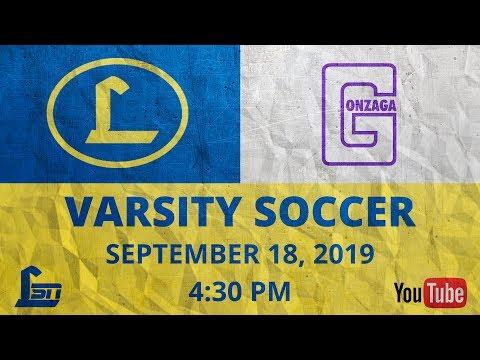 Loyola Blakefield Varsity Soccer V. Gonzaga College High School