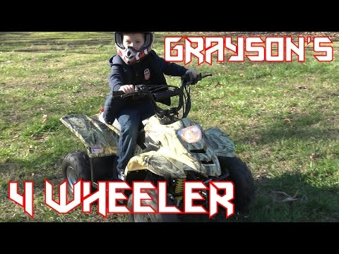 110cc ATV (Grayson's 4 Wheeler)