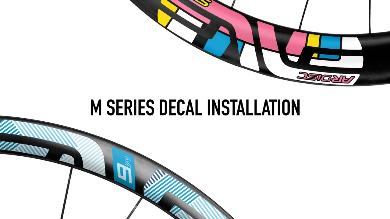 How to Install ENVE Wheel Decals - M Series Mountain Bike Wheelsets