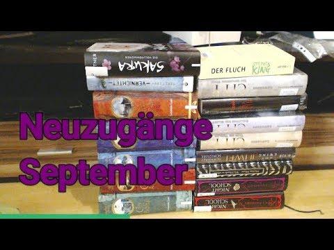 Neuzugänge September Bücher 2017  (18 schöne Bücher)