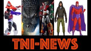 "TNINEWS: New Playmates TMNT, Mattel MOTU Origins, Blitzway Voltron, Mezco 18"" Godzilla And More"