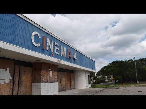 Creepy Abandoned Movie Theatre with Power