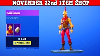 Fortnite Item Shop (November 22nd) | What Is This *NEW* Skin?