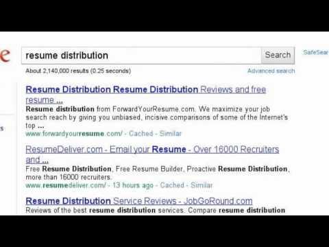 Resume Writing and Job Search Strategies | Toronto