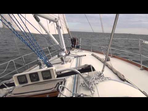 "Sailing the Sabre 426 ""Artemis"" On Galveston Bay, Little Yacht Sales"