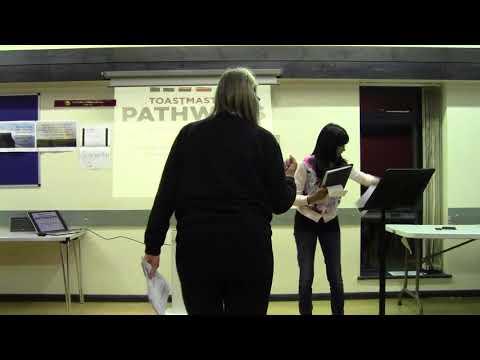 2018 02 01 Gill president opening Coralie pathways presentation Bobbie grammarian intro Dennis timek
