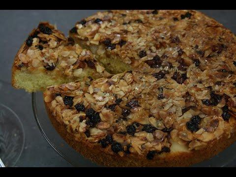 gâteau-renversé-aux-poires---upside-down-pear-cake---كيكة-الإجاص-المقلوبة