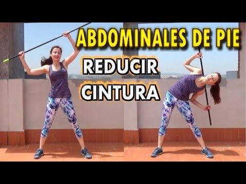 Videos de ejercicios para abdominales de pie