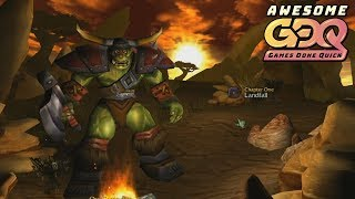 Warcraft III: Reign of Chaos Orc Campaign by CovertMuffin in 51:48 - AGDQ2019