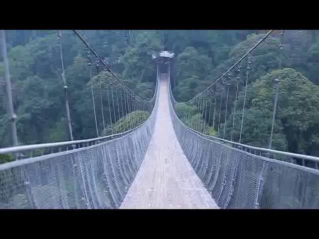 suspension bridge situgunung sukabumi