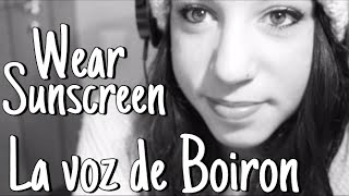 Wear Sunscreen, Mary Schmich | La voz de Boiron thumbnail