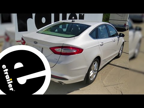 etrailer   Best 2013 Ford Fusion Trailer Hitch Options