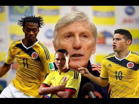 Convocatoria Selección Colombia para enfrentar a Venezuela y Brasil