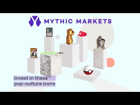 Mythic Markets - Investing for geeks   Fractional shares of pop culture collectibles
