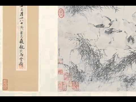 The Tradition of Chinese Scroll Paintings - The 100 Geese