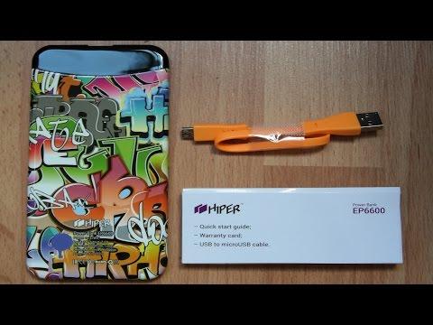 Мобильный аккумулятор HIPER EP6600 Power Bank (Хайпер Е�)