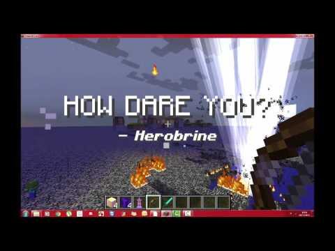 Come Uccidere HEROBRINE Su Minecraft