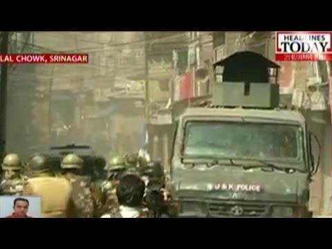 Separatist Protests Turn Violent In Srinagar