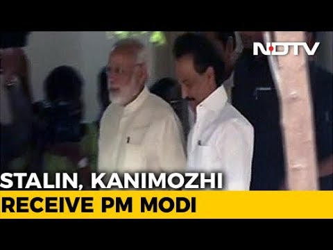 PM Modi Meets M Karunanidhi In Chennai, DMK Says No Political Signal