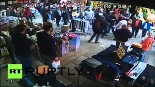 CCTV Footage: Man slams Syrian child refugee to ground