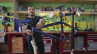 Замена тросов и рубашек переключения на велосипеде