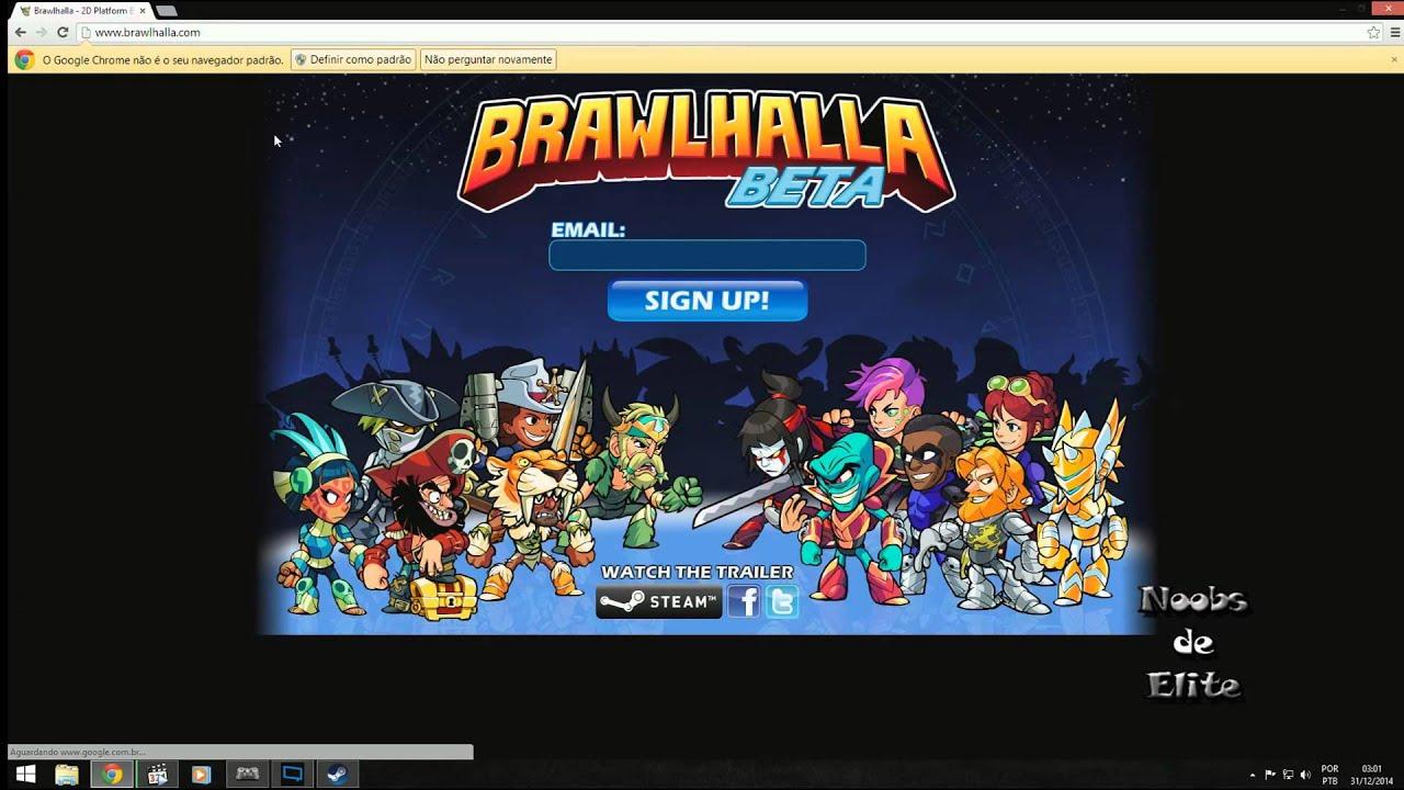 Free Key Steam Brawlhalla (BETA)