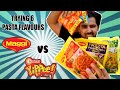 Trying 6 Pasta Flavours || Maggi vs Sunfeast Yippee