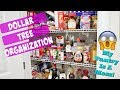 CHEAP AND EASY DOLLAR TREE PANTRY ORGANIZATION | SATISFYING ORGANIZATION