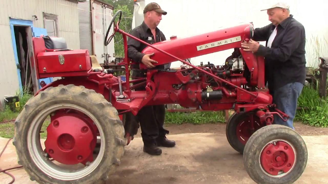 small resolution of farmall cub transmission pto repair youtube farmall 12 volt wiring diagram farmall cub tractor engine diagram