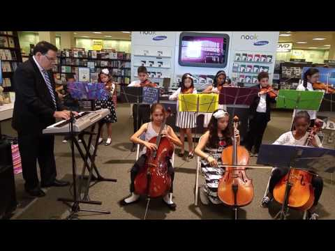 Garden City Park School Students Orchestra Performance at Barnes & Nobles_01