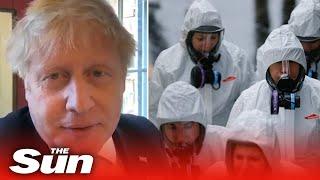 PM Boris Johnson sounds upbeat and well in his latest video despite suffering from coronavirus