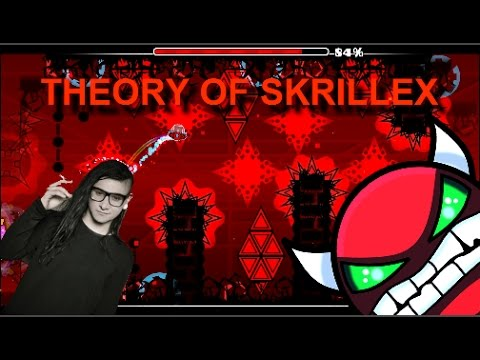 Geometry Dash Theory of Skrillex (CRAZY DEMON)