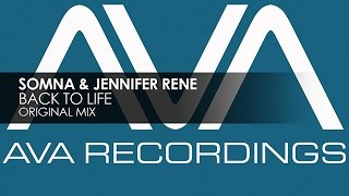 Somna & Jennifer Rene - Back To Life
