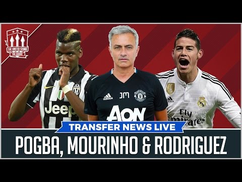 Rodriguez Matic Pogba | Manchester United Transfer News