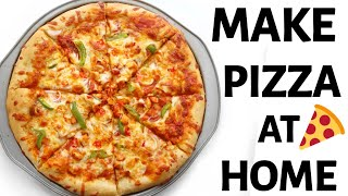 HOW TO MAKE PIΖZA AT HOME | CHICKEN SUYA PIZZA !