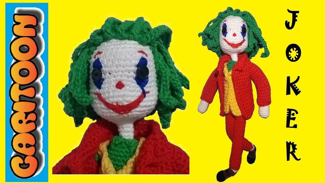 Joker Parte 2 Tutorial Amigurumi Paso a Paso - YouTube | 720x1280