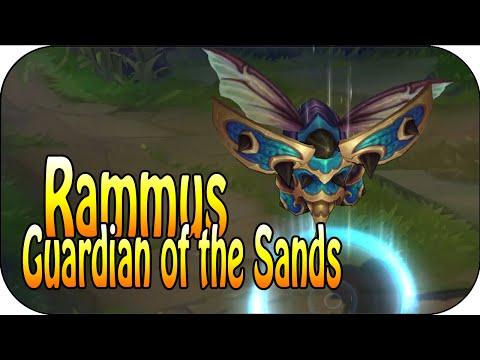 Guardian of the Sands Rammus - Skin Spotlight - Skin Vergleich