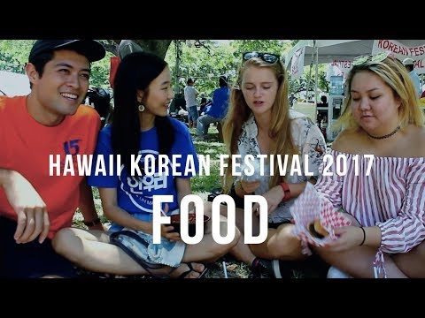 Cultural Crossroads: Hawaii Korean Festival [Food]