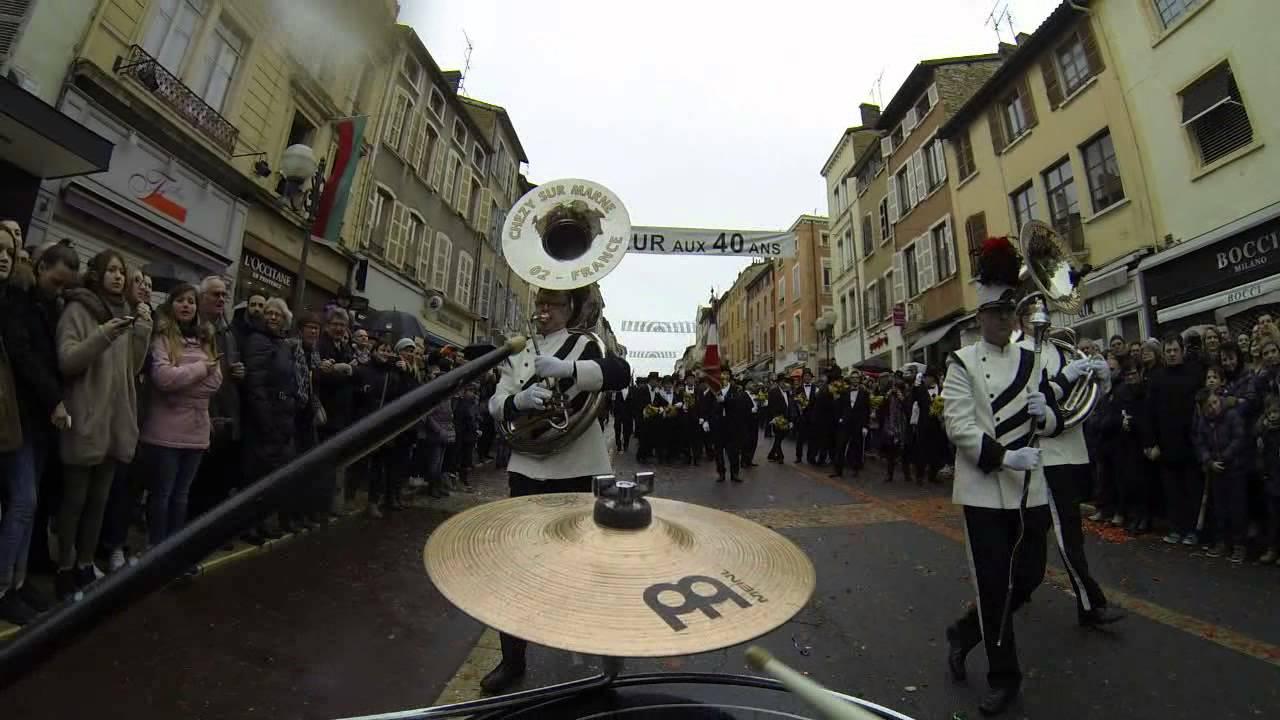 Vague des conscrit Villefranche sur Saône 2016