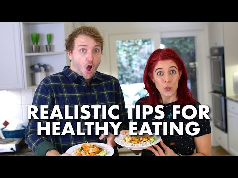 REALISTIC Healthy Eating Tips + Coconut Vegetable Curry! thumbnail