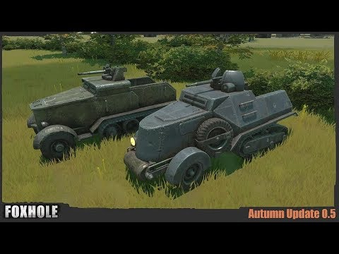 Autumn Update & Damage States - Foxhole (Update 0.5)