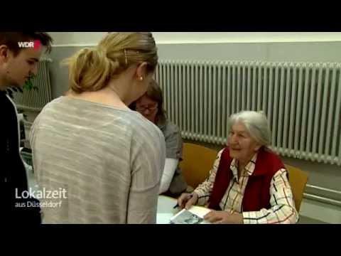 Zeitzeugin Betty Bausch-Polak am Berufskolleg Neuss-Weingartstraße