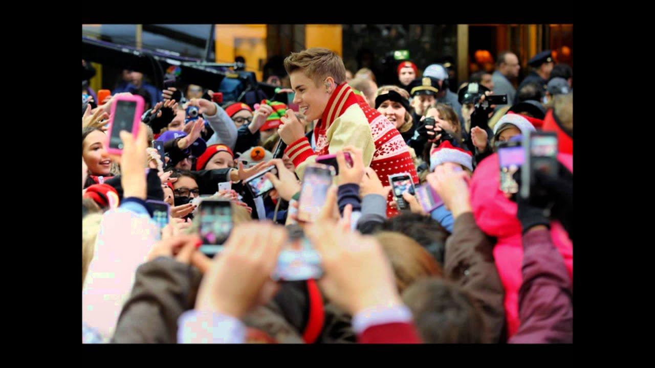 Someday at christmas, Justin Bieber ♥ - YouTube