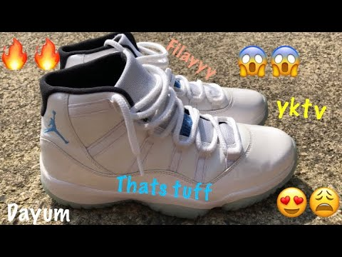 Jordan 11 Legend Blue - How To Clean Jordan 11's