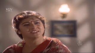 Malashree Best Scenes - Srinath Got Heart Attack by Seeing Malashree Mother | Mangalya Kannada Movie